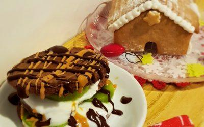 Pancakes al cioccolato senza latte e senza burro
