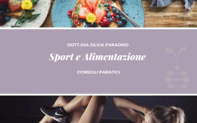 Sport e alimentazione, consigli pratici per spuntini pre-allenamento e post-allenamento
