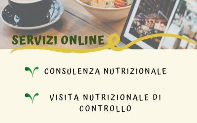 CONSULENZE NUTRIZIONALI ON LINE