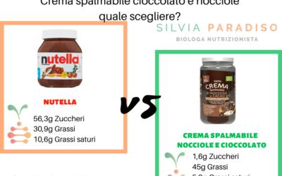 Creme spalmabili al cioccolato: Nutella, creme proteiche, creme spalmabili dietetiche quale comprare?